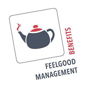 Feelgood Management: Ikonographische Darstellung einer Kaffeekanne